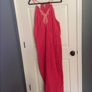 Dark pink Old Navy Maxi dress